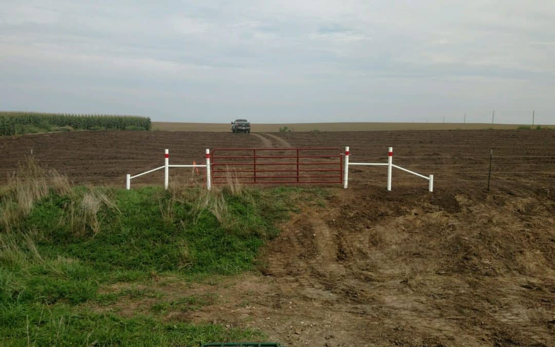 Michels – Dakota Access Project, Iowa 30 miles of fencing